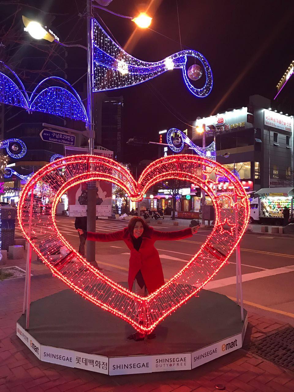 Busan'da yeni yıl süslemeleri...
